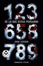 Se lo que estas pensando (Spanish Edition) by John Verdon in Used - Very Good
