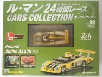 24 Hours of Le Mans Cars Collection (8) Renault Alpine A442B (1978) 1/43 SPARK