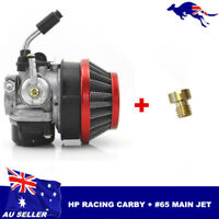 Performance Carb Carby + Jet Racing Carburetor 50cc 60cc 80cc Motorized Bicycle