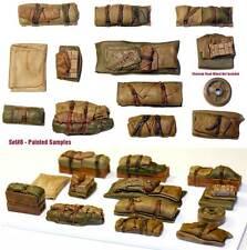 1/35 Escala Kit de resina TIENDAS & tarps Set #8 Militar Modelismo Accesorio