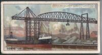 Hulett Conveyor Bridge Great Lakes 90+ Y/O Ad Trade Card
