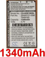 Batterie 1340mAh type 35H00121-05M BA S380 TWIN160 Pour HTC Hero 100