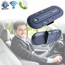 Wireless Multipoint Bluetooth Hands Free Car Speakerphone Speaker Visor Clip