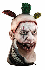 HALLOWEEN ADULT AMERICAN HORROR STORY TWISTY CLOWN  *COMPLETE * MASK PROP