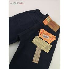 LEVI'S jeans LEVIS 501 Original Fit uomo BLU NOTTE denim old stock Vintage