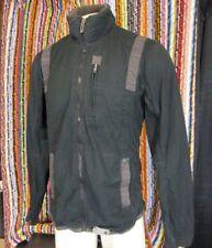 G-Star Raw Men Jacket, Batt Overshirt, Black Size XL measures like large
