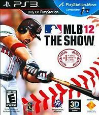 PS3 Video Game: MLB 12: The Show (Sony PlayStation 3, 2012)