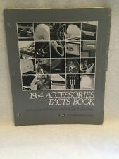 1984 FORD LINCOLN MERCURY CARS & LIGHT TRUCKS ACCESSORIES PARTS DEPARTMENT PAGES