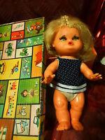 vintage ,ans 50-60 poupée caractére  dans sa boite POCHOLITA