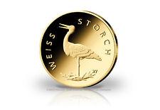 20 Euro Goldmünze 2020 Deutschland Weißstorch Prägestätte unserer Wahl