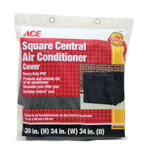 """Square Central Air Conditioner Cover 30"""" H x 34""""W x 34"""" D Heavy Duty Pvc"""
