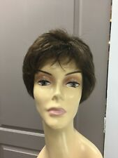 Gabor CONFIDENCE Short Lace Front Pixie Wig, GL4/8 Dark Chocolate / Brown