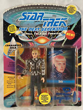 Star Trek The Next Generation Sela Action Figure UNPUNCHED CARD