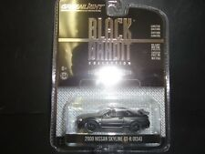 GREENLIGHT NISSAN SKYLINE GTR R34 2000 noir et BANDIT 27930 1/64