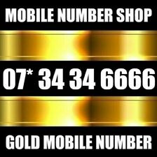 GOLD VIP DIAMOND PLATINUM NEW BUSINESS MOBILE PHONE NUMBER SIM CARD 6666
