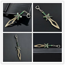 New Popular Dota2 Butterfly Sword Weapon Key Chain Keychain Ring Cosplay Jewelry