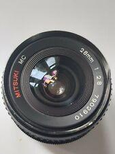 Mitsuki MC 28mm 2.8 Lens