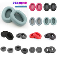 2Pcs Replacement Headphone Cushion Ear Pad Cups for Sony MDR ATH-WS99 HM5 WH US