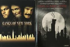 Martin Scorsese's GANGS OF NEW YORK Blu Ray & DVD Mediabook, STRICTLY LIMITED !!