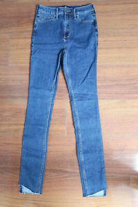 Hollister Ultra High-Rise Super Skinny Jeans Stretch 1L W25/L32 Damen NEU