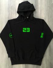 Neon Black Sweatshirt To Match Jordan Yeezy Nike Air Jordan 23 Black Hoodies New