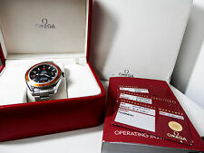 MEN'S 44MM OMEGA SEAMASTER PLANET OCEAN CO-AXIAL 2208.50 BOX/PAPERS FREE US SHIP