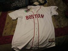 MLB Majestic Boston Red Sox Authentic Cool Base Jersey Sz 48  XL Made In US