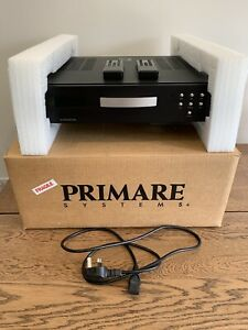 Primare D30.2 Compact Disc CD Player Black Finish - Boxed - 1 Remote