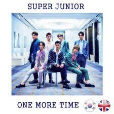 [NEW + SEALED!] SUPER JUNIOR One More Time CD Album Normal Version Kpop K-pop UK