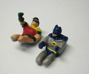 HOT WHEELS  BATMOBILE  BATMAN AND ROBIN  FIGURES 1/50 SCALE FIGURES UNPAINTED