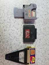 LOT of 3 Untested Cheat Carts GAME SHARK 2.2 Game Genie 7356 & 7359