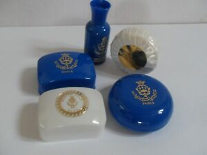 Ritz Paris Hotel guest toiletries souvenirs 4 new soaps & 1 bottle
