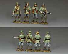 KING & COUNTRY FIRST WAR FW232 WW1 GERMAN STORMTROOPER SET MIB