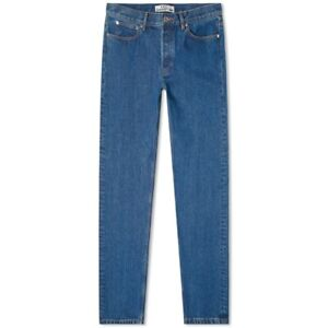 A.P.C. X CARHARTT WIP PETIT STANDARD JEAN WASHED INDIGO DELAVE Size 27 Size S
