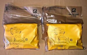 Zodiac Air Cruisers 35lb+ Airline Airplane Life Preserver (Lot of 2) NEW