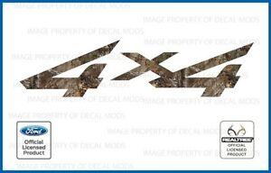 1997 <-> 2010 Ford Super Duty 4x4 Realtree Decals Stickers Xtra HD F250 F350 450