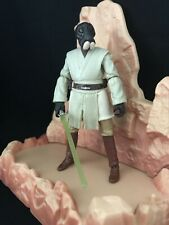 "Star Wars Aqualish Alien Jedi Temple Figure Deleted Universe 3.75"" Ponda Baba"