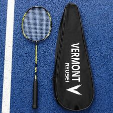 Vermont Ryusei Badminton Racket | Club-Level Senior Racket | Graphite | 89g
