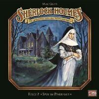 "SHERLOCK HOLMES ""SPUK IM PFARRHAUS-FOLGE 2"" CD NEW"