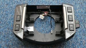 Land Rover Freelander 2 Carbon Fibre Horn Button Steering Wheel Switch Panel