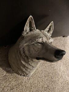 Vintage RARE 92 Neil J Rose Wilderness Marauders Limited Edition Sculpture Wolf