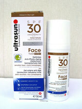 Ultrasun Face Tinted Honey Moisturising Sun PROTECION Spf30 50ml