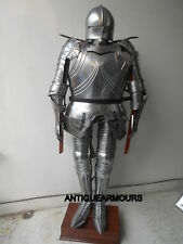Gothic German Medieval Knight Suit of Armor 17th Century Full Body Armour Suit