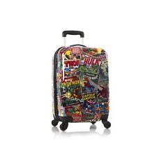"Heys Marvel Comic Luggage 21"" Carry-on Spinner Suitcase Avengers Iron Man"