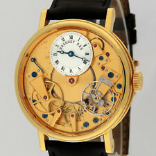 Breguet 18K Yellow Gold Tradition Automatic 7037BA/11/9V6 38MM Watch Box/Paper