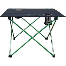LIGHTWEIGHT TABLE FOLDING STOOL DECK TRAVEL FISHING CAMPING FOLDABLE PARTY FOOD