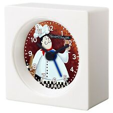 FAT ITALIAN CHEF DRUNK ALARM CLOCK FOR KITCHEN DINING BEDROOM TV ROOM DECORATION