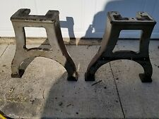 antique cast iron table legs