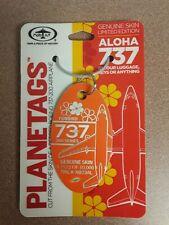 Boeing 737 Aloha / Lufthansa Aircraft SkinPlane Tag / Planetags - Free Shipping
