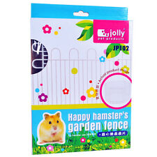 Jolly Design-New Happy Hamster's Garden Metal Fence Cage 15×23cm 8 Panels